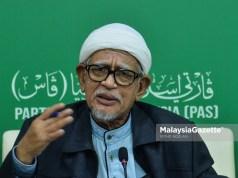Abdul Hadi Awang PAS GE14 14th General Election Perikatan Nasional Islam Muslim