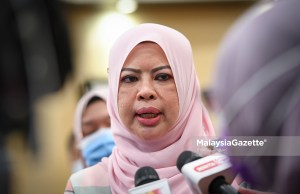 Menteri Pembangunan Wanita, Keluarga dan Masyarakat (KPWKM), Datuk Seri Rina Harun.