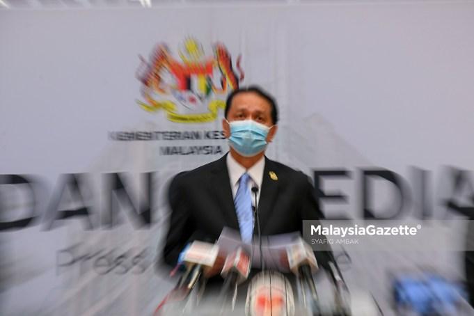 Ketua Pengarah Kesihatan Malaysia, Tan Sri Dr Noor Hisham Abdullah.