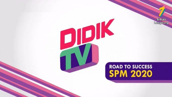 PdPR DidikTV NTV7 education tv channel Ministry of Education MOE