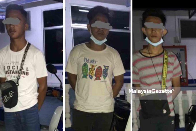 SPM Candidate illegal motorcycle racing Penaga