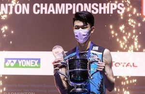 Lee Zii Jia PIX: Badminton Association of Malaysia BAM All England National shuttler