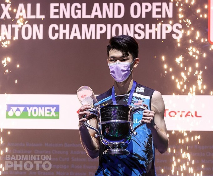 Lee Zii Jia PIX: Badminton Association of Malaysia BAM All England National shuttler