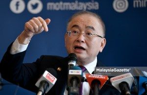 Transport Minister Datuk Seri Dr Wee Ka Siong MH Malaysia Airlines flight India passenger cargo