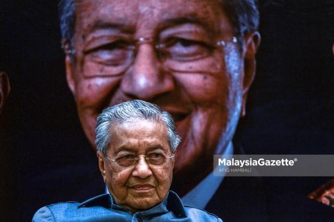 RoS Registrar of Society Parti Pejuang Tanahair Mahathir Mohamad