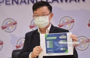 Chief Minister of Penang Chow Kon Yeow MCO 3.0 stricter Movement Control Order 3.0