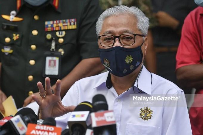 EMCO Enhanced Movement Control Order Selangor KL Kuala Lumpur Ismail Sabri Yaakob essential services