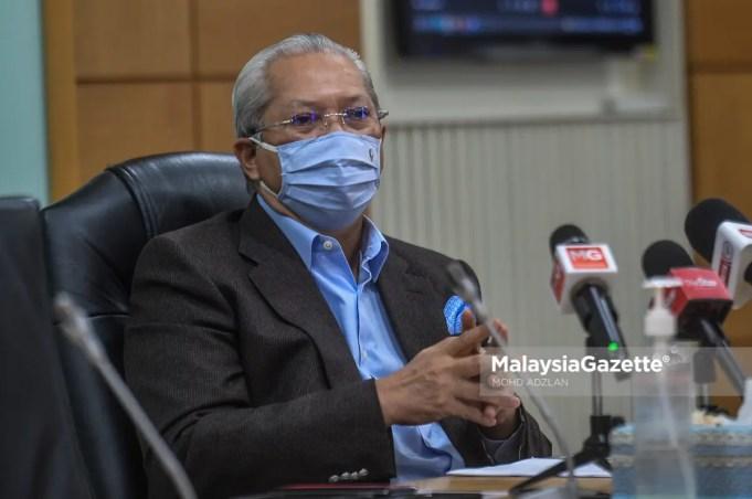 Tan Sri Annuar Musa SOP violation EMCO Pak Lah Tun Abdullah Badawi Tun Jeanne Abdullah lunch