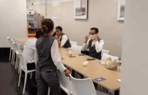 Five dine-in customers at a renowned business complex in Kuala Lumpur have been fined RM2,000 each while the owner of the restaurant is fined RM10,000 for allowing dine-in and violating the MCO SOP determined by MKN.