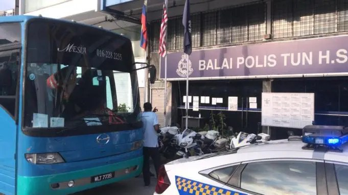 A factory bus driver and his employer are fined RM12,000 in total for violating the SOP of Full MCO by fetching 34 MRT station construction workers in the bus, exceeding the 50 percent capacity set by the National Security Council (MKN).