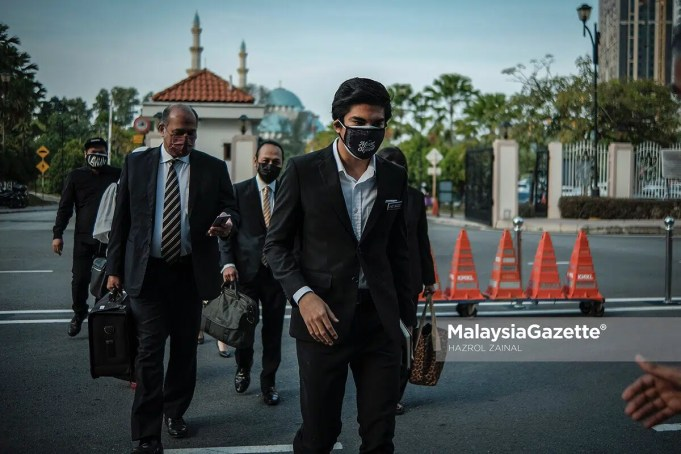 Syed Saddiq Syed Abdul Rahman was charged over CBT of RM1 million Armada's funds and misappropriation of RM120,000 of election donation
