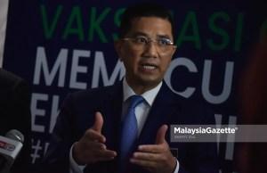 Mohamed Azmin Ali Selangor Sultan Covid-19