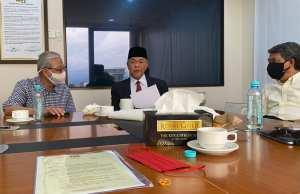 The President of UMNO, Datuk Seri Ahmad Zahid Hamidi, his Deputy Datuk Seri Mohamad Hasan and the Vice-President of UMNO Datuk Seri Ismail Sabri Yaakob. Prime Minister Muhyiddin Yassin