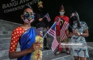 racial politics multi races people merdeka malaysia flag national day