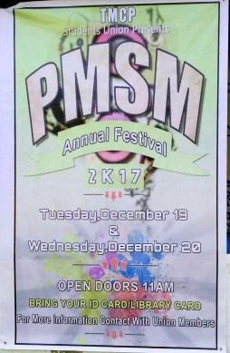 PMSM Annual Festival 2017 Notice