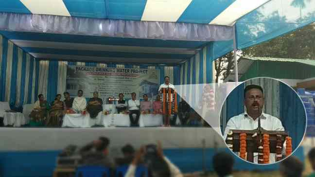 Mr. Swapan Saha in Inauguration Ceremony
