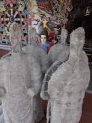 Linh Phuoc Pagoda, with new statues being constructed all the time.