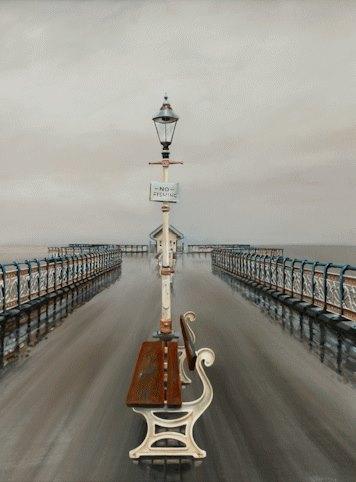Heavy Rain Penarth Pier