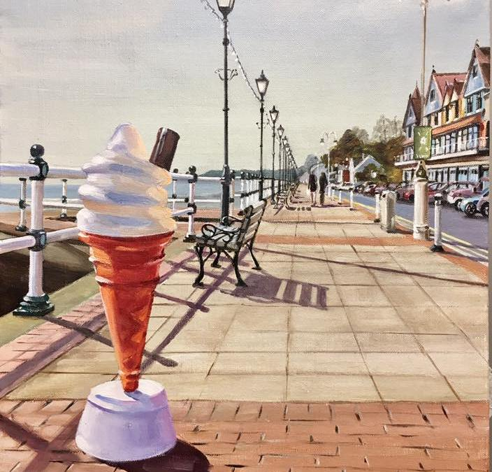 Plastic Ice Cream Penarth Esplanade
