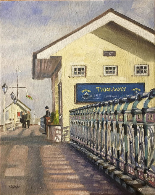 Painting of Penarth Pier (Commission)