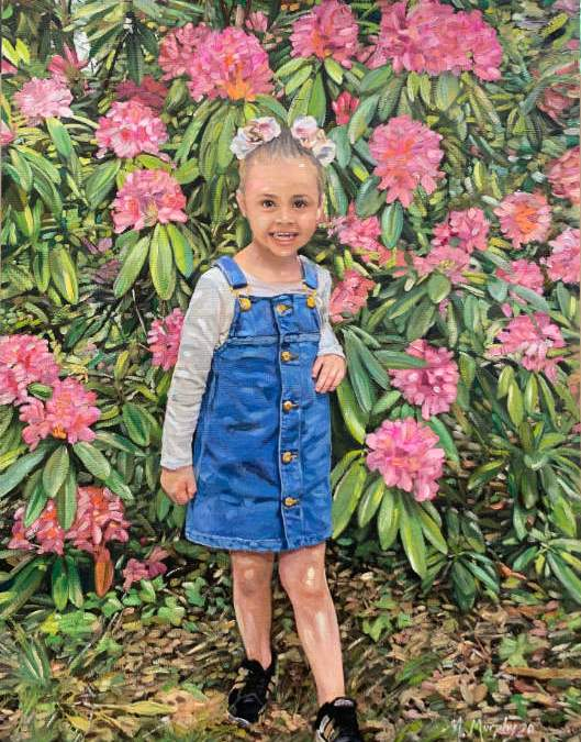 Lilly Hewings Aged 4 years