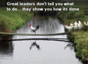 great Leaders show you how