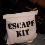photo of escape kit bag