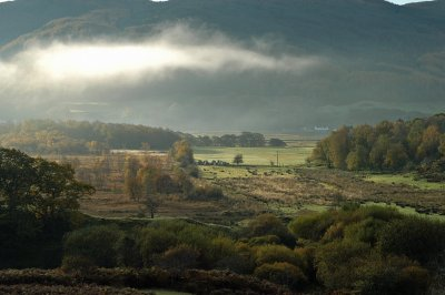 Valley south of Oban