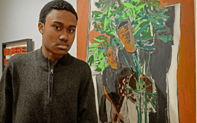 20-year-old artist from Hempfield gains momentum in the art world; has piece in Kennedy Center show