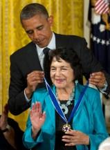 Barack Obama, Dolores Clara Fernandez Huerta
