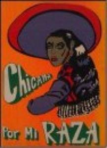 """Chicana por mi Raza"" artwork"