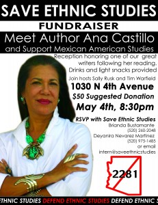 Mujeres Talk: Tucson's Save Ethnic Studies Event Featuring Ana Castillo