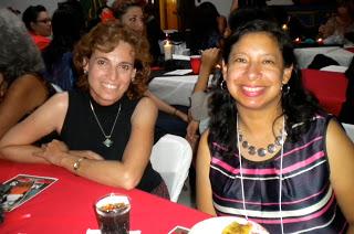 Prof. Edwina Barvosa & Prof. Mariela Rodriguez at Awards Banquet