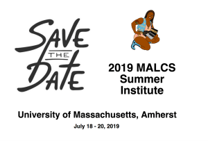 2019 Save the Date UMASS