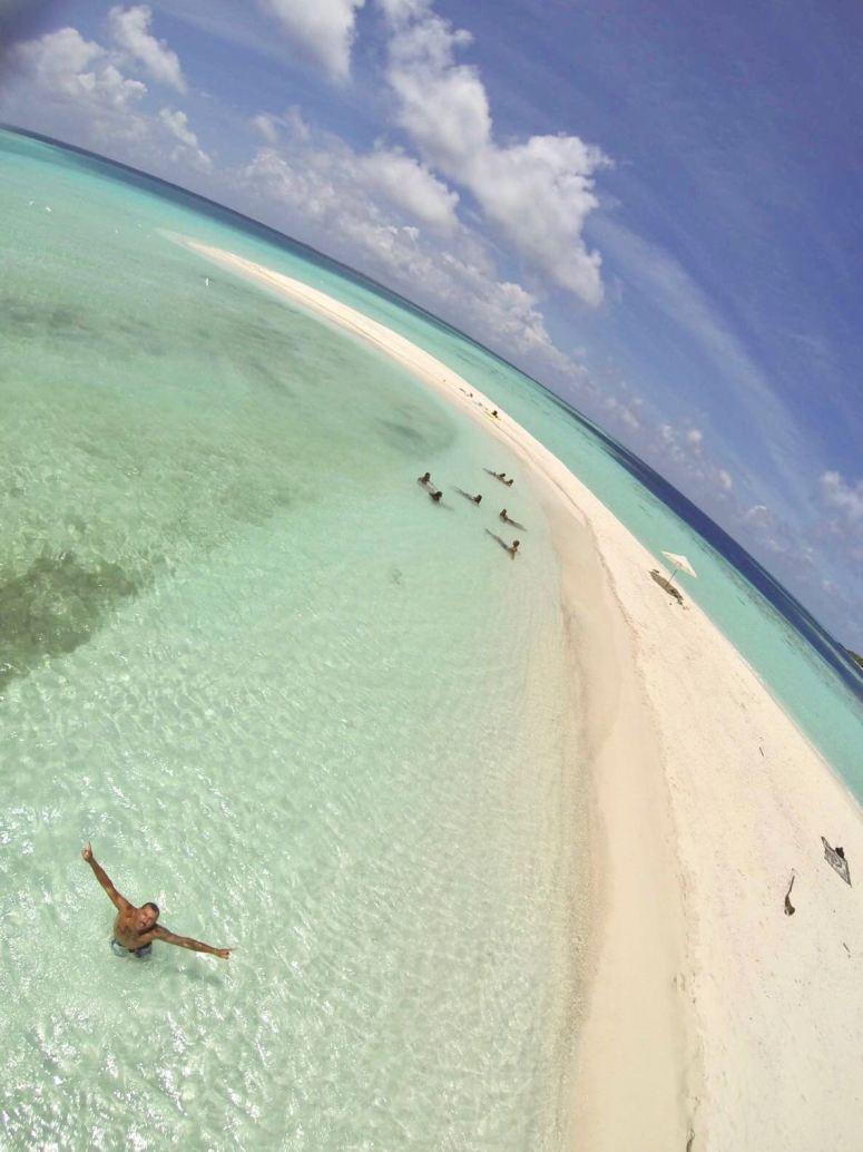 escursione in guest House alle Maldive