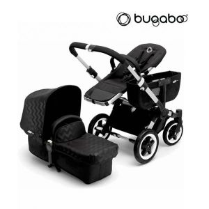 Bugaboo Donkey Mono Shiney Chevron