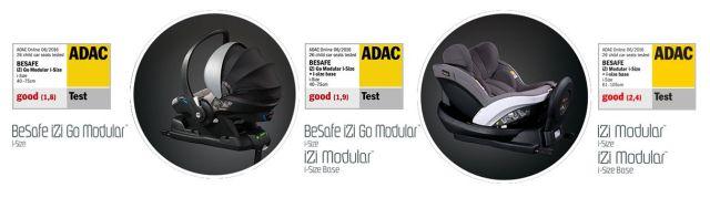 iZi Go Modular BeSafe autosjedalica