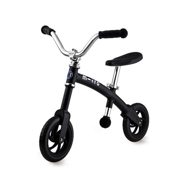 Micro G-Bike + Chopper Black Matt