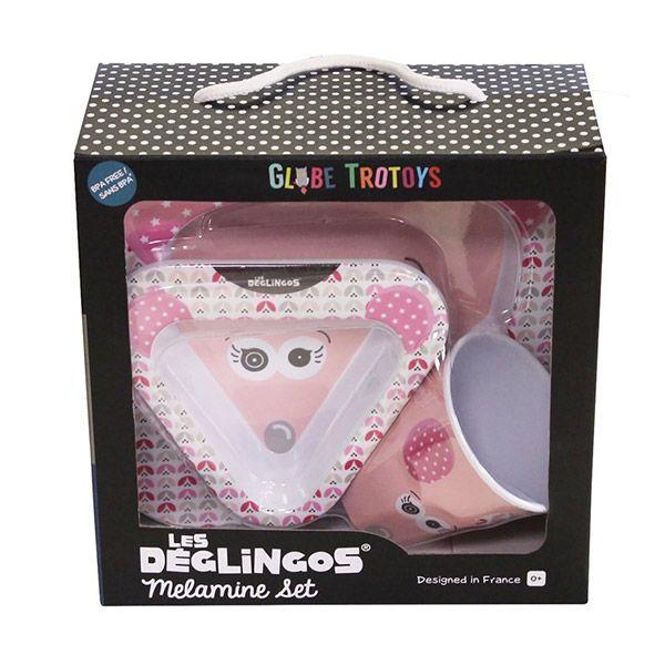 Set za jelo Deglingos Mouse