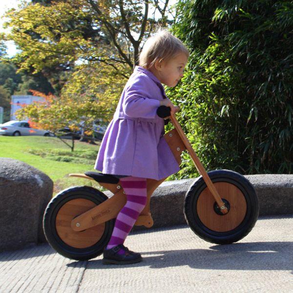 Kinderfeets Bamboo drveni bicikl