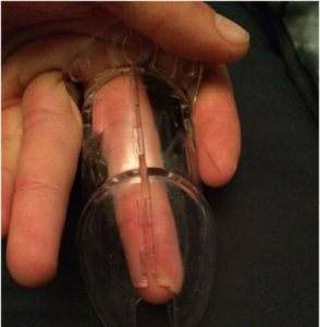 Male Chastity Sizing