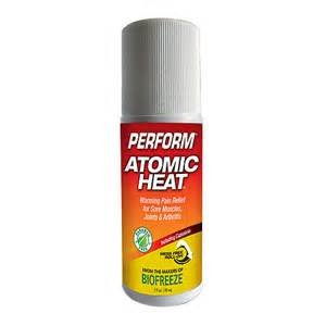 atomic heat rub