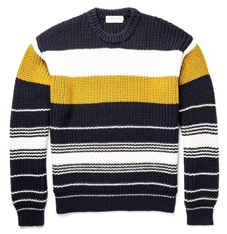 http://www.mrporter.com/en-us/mens/tomorrowland/chunky-knit-striped-wool-sweater/591194
