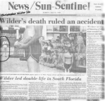 Douglas Wilder, serial killer