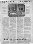 Image of 1850s Newgate Calendar publication