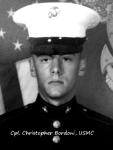 Cpl. Christopher Bordoni, USMC