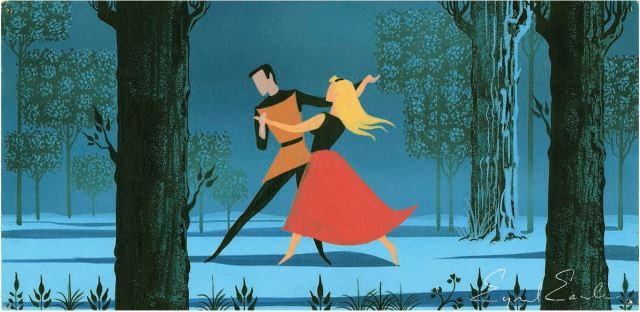 Eyvind Earle Concept Artist For 1959 Sleeping Beauty