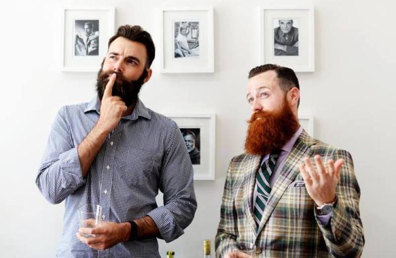 barbe lisse nos astuces pour un lissage de barbe dans. Black Bedroom Furniture Sets. Home Design Ideas