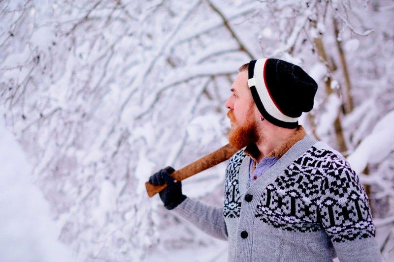 Protéger sa barbe du froid