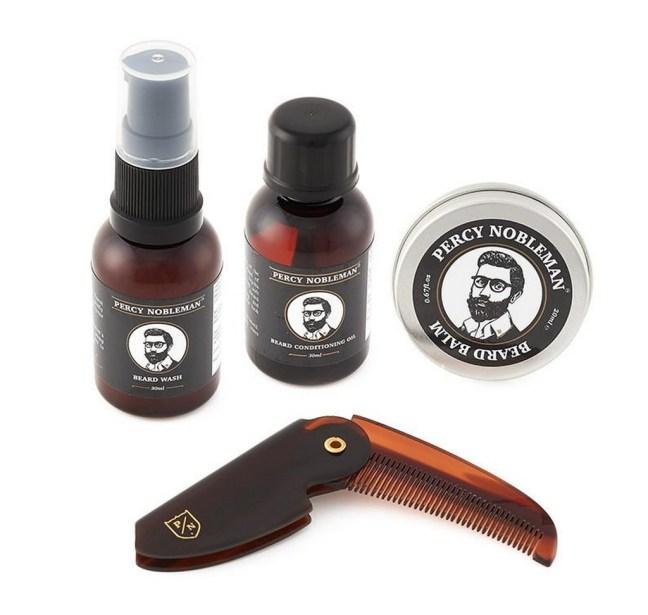 Sélection de coffrets soins à barbe